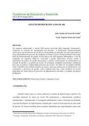 Cuadernos de Educación y Desarrollo - Eumed.net