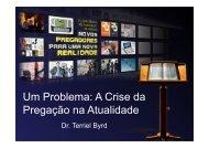 Um Problema: A Crise da Pregação na Atualidade
