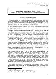 guerra e paz em angola – o campo contra a cidade - CCCB