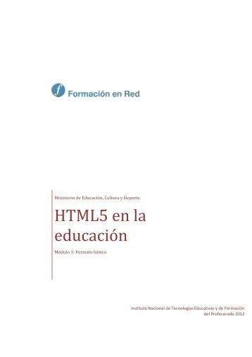 Formato del texto - Instituto Nacional de Tecnologías Educativas y ...