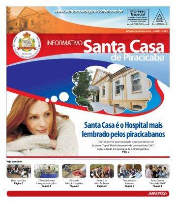 Santa Casa é o Hospital mais lembrado pelos piracicabanos