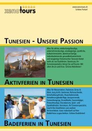 TUNESIEN [ UNSERE PASSION BADEFERIEN IN ... - Xenotours