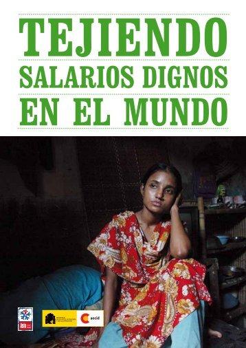 Tejiendo salarios dignos en el mundo - Campaña Ropa Limpia