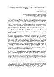 Produção de textos na escola: perspectivas teórico-metodológicas ...