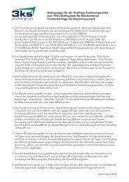 10 Jahre Funktionsgarantie für das T-FAL ... - 3ks profile gmbh