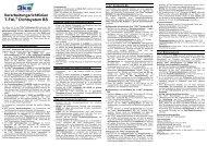 Verarbeitungsrichtlinien T-FAL Dichtsystem BS - 3ks profile gmbh