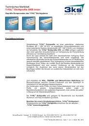 T-FAL Dichtprofile SKB innen - 3ks profile gmbh