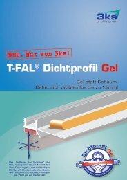 T-FAL® Dichtprofil Gel -  3ks profile gmbh
