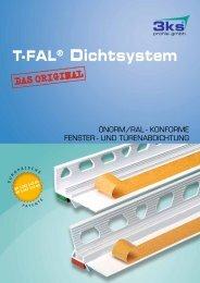 T-FAL® Dichtsystem - 3ks profile gmbh