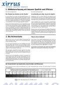 Die Wege zu digitalen Bildern 1. Vor- und Nachteile ... - xirrus GmbH - Page 2
