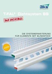 T-FAL® Dichtsystem BS - 3ks profile gmbh