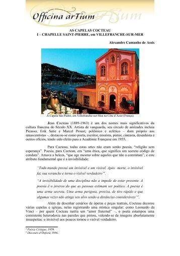 Versão em PDF - Officina arTium