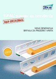 T-FAL® sustav za brtvljenje - 3ks profile gmbh