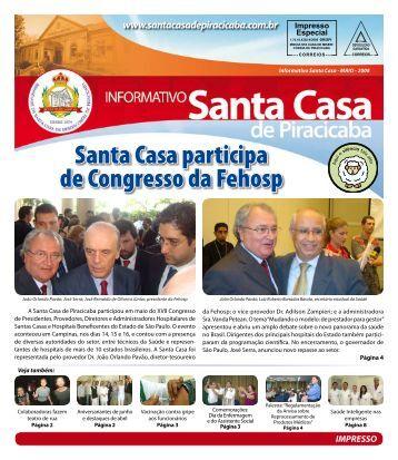 Santa Casa participa de Congresso da Fehosp - Irmandade da ...