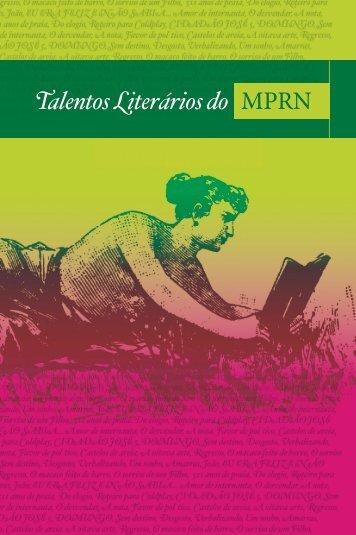 Talentos Literários do MPRN - Ministério Público RN