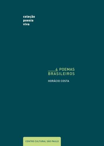 4 PoEMas brasilEiros - Centro Cultural São Paulo