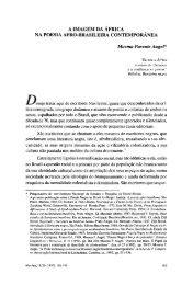 A imagem da África na poesia afro-brasileira - Revista Afro-Ásia