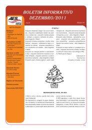boletim informativo dezembro/2011 - Associação dos Empregados ...