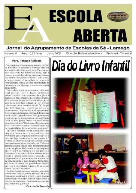 Jornal do Agrupamento de Escolas da Sé - Lamego