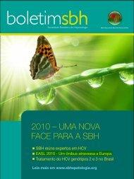 2010 – UMA NOVA FACE PARA A SBH