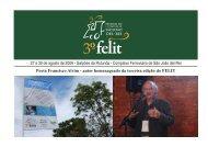 Relatório 3° FELIT.p65