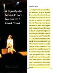 A Explosão das bandas de rock, blocos afro e novos ... - Livros Grátis
