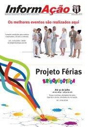 Projeto Férias - Esporte Clube Banespa