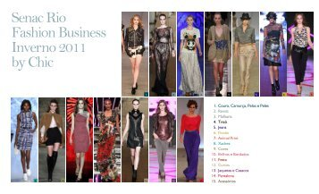 Senac Rio Fashion Business Inverno 2011 by Chic