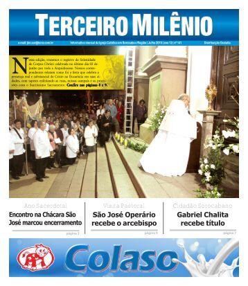 Ano Sacerdotal Visita Pastoral São José Operário recebe o ...