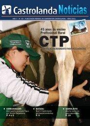 ano 7 – n° 60 – publicação mensal da cooperativa - Castrolanda