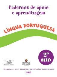 LP_conteudo_Aluno_2ºAno - Secretaria Municipal de Educação