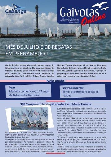 gaivotas online n 2 - 05.07.2012 - Cabanga Iate Clube de ...