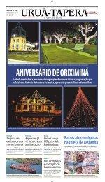 ANIVERSÁRIO DE ORIXIMINÁ - Uruá-Tapera