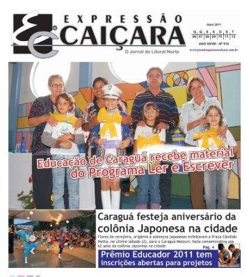 EXPRESSÃO CAIÇARA O Jornal Do Litoral Norte