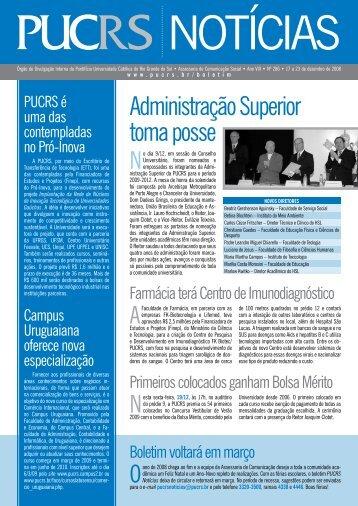 Administração Superior toma posse - pucrs