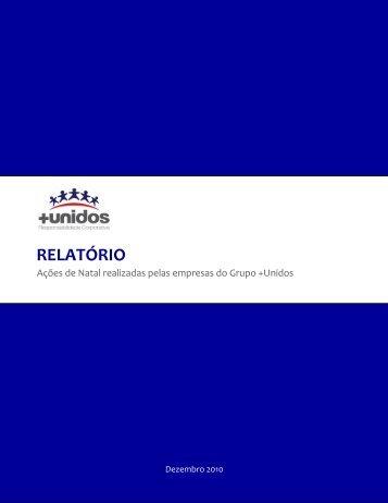 RELATÓRIO - + Unidos