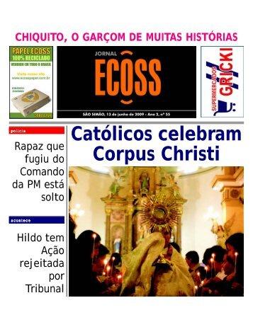 Jornal Ecoss Edição Nº 55 - Ogawa Butoh Center