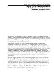 Profª Zilma de Moraes Ramos de Oliveira - Centro de Referência em ...