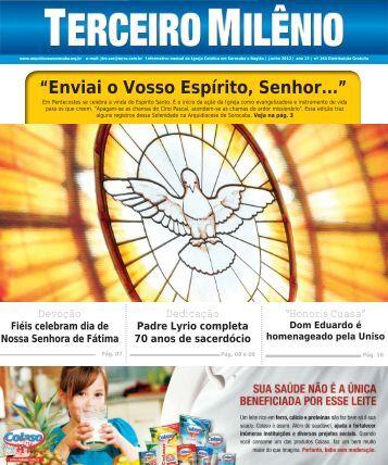 """""""Enviai o Vosso Espírito, Senhor..."""" - Arquidiocese de Sorocaba"""
