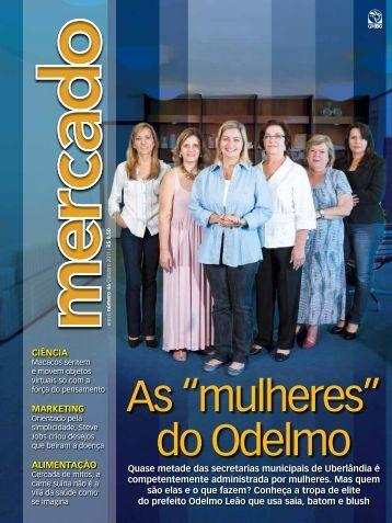 "As ""mulheres"" do Odelmo - Revista Mercado"