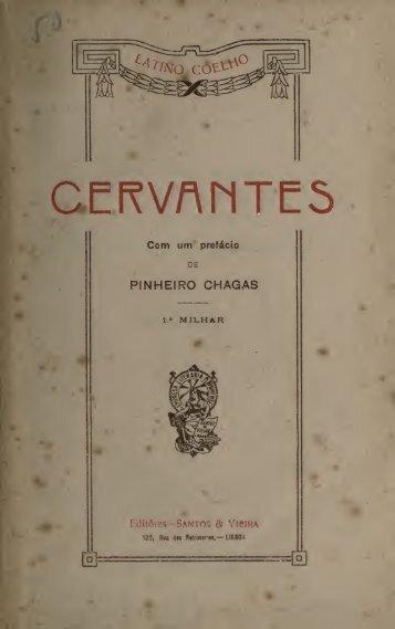 Cervantes : seguido de um estudo sobre D. Manuel José Quintana ...