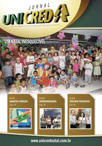 Ed. 18, Nov/Dez de 2010 - UNICRED Natal