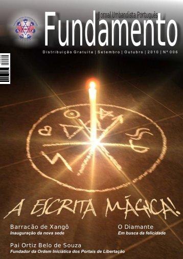 Fundamento - Associação Templo de Umbanda Pai Oxalá