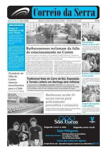Número 634.pmd - Jornal Correio da Serra