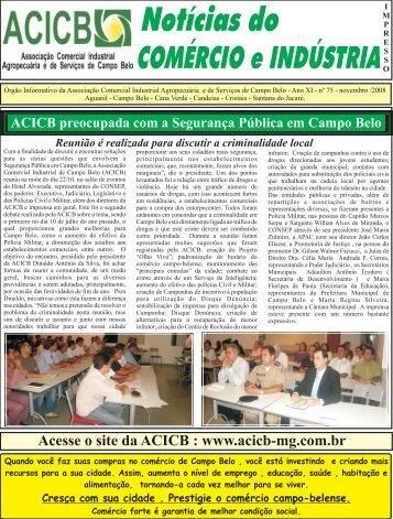 Edição de Novembro 2008 - Associação Comercial e Empresarial ...