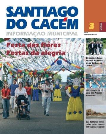 Boletim 3.pdf - Câmara Municipal de Santiago do Cacém