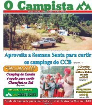 CAMPING MAR.O DE 2012 - Camping Clube do Brasil