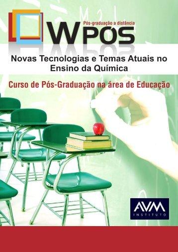 Novas Tecnologias e Temas Atuais no Ensino da Química (11-2010 ...