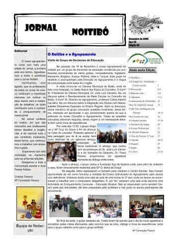Jornal Noitibó-Dez.2009.pub - Agrupamento de Escolas do Vale de ...