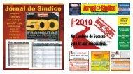 CONFIRA NESTA EDIÇÃO - Jornal do Síndico
